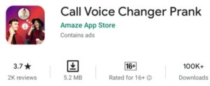 call voice changer app download